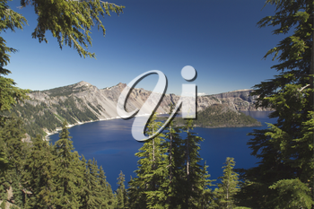 Stock Photo of Crater Lake