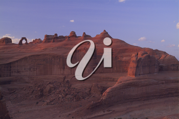 Stock Image: Delicate Arch at Arches National Park