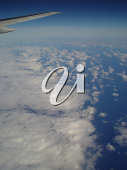 Travel Stock Photo: View From an Airliner