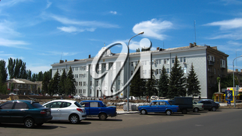 the image of panorama of summer city