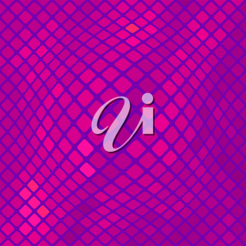 Pink Square Pattern. Abstract Pink Square Background