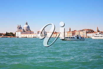 travel to Italy - view of Venice city from San Marco basin