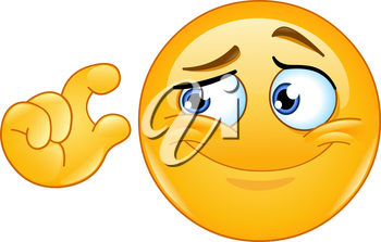 It is too small. Emoticon showing small size with fingers.