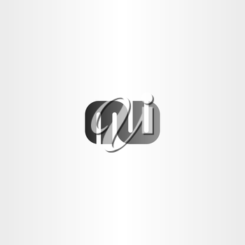 letter m and w logo combination logotype vector logo