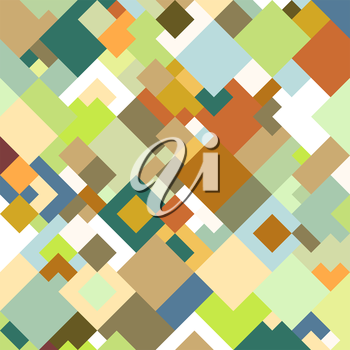 Abstract colored background, square design vector illustration.