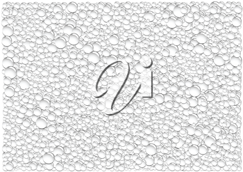The gray drops condensation vector background