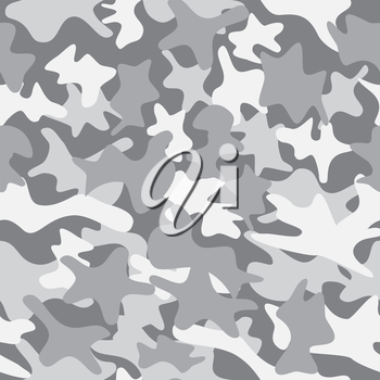 City camouflage seamless clothing texture. Military army fashion style