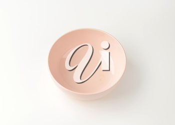 Round pink all purpose bowl