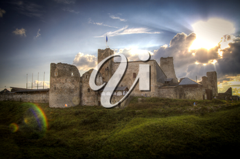 Rakvere Castle. historic building in the north of Europe