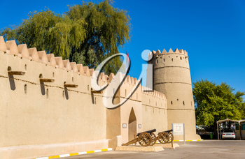 Entrance of the Eastern Fort of Al Ain, UAE