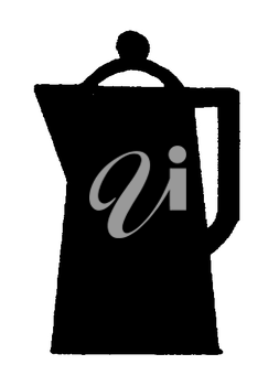 Royalty Free Clipart Image of a Pot