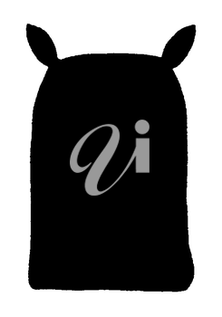 Royalty Free Clipart Image of Sack