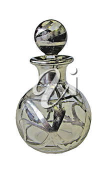 Royalty Free Photo of a Decorative Bottle of Perfume
