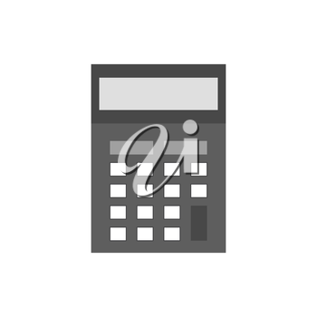 Calculator icon. Symbol in trendy flat style isolated on white background. Illustration element for your web site design, logo, app, UI.