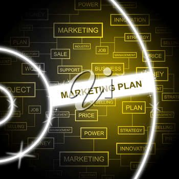 Marketing Plan Meaning Sales Promotions And Agenda