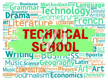 Technical School Meaning Tutoring Specialist And Learning