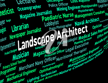 Landscape Architect Meaning Building Consultant And Creator