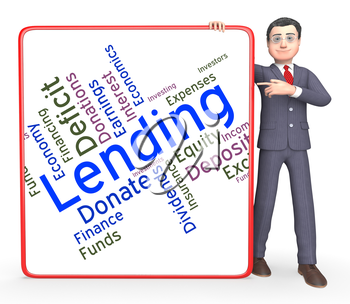 Lending Word Indicating Borrowing Text And Loans