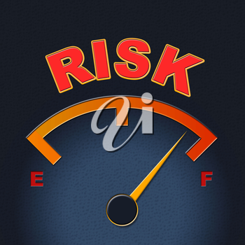 Risk Gauge Meaning Indicator Failure And Caution