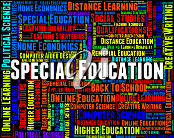 Special Education Meaning Slow Learning And College