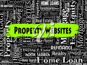 Property Websites Representing Real Estate And Homes