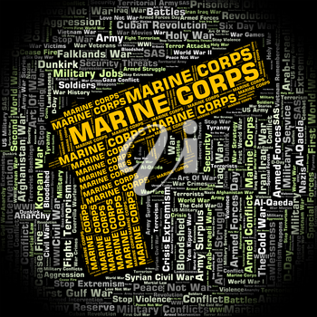 Marine Corps Showing Naval Infantry And Marines