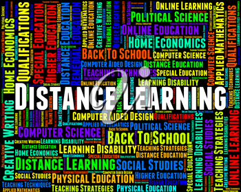 Distance Learning Words Meaning Correspondence Courses And Study
