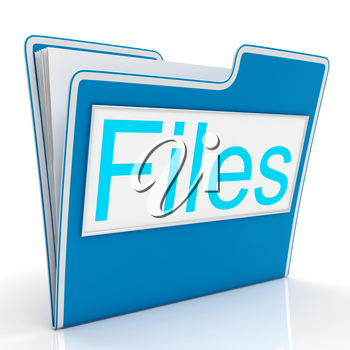 Files Word Showing Organizing Documents Filing And Reports
