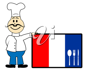 Chef Netherlands Meaning Cooking In Kitchen And Preparing Food