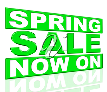 Spring Sale Showing At The Moment And Promo