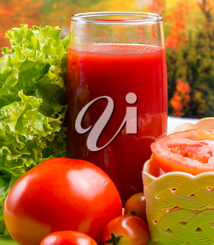 Juicy Tomato Juice Meaning Refreshment Refreshments And Thirsty