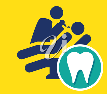 Dentist Icon, AI 8 supported.