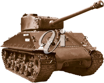 Royalty Free Photo of a Military Tank
