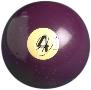 Royalty Free Photo of a Billiard Ball