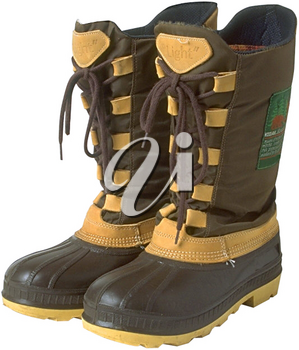 Royalty Free Photo of a Winter Boots