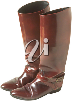 Royalty Free Photo of Ladie's Fashion Boots