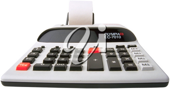 Royalty Free Photo of an Adding Machine