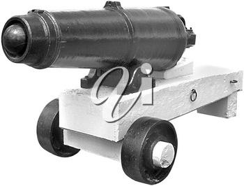 Royalty Free Photo of an Ancient Cannon