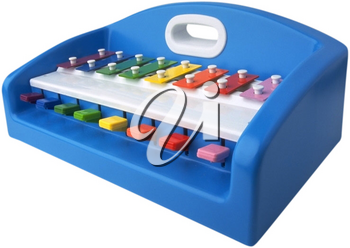 Royalty Free Photo of a Child's Xylophone