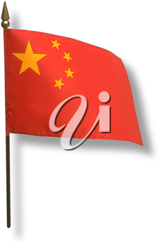 Royalty Free Photo of a Flag of China