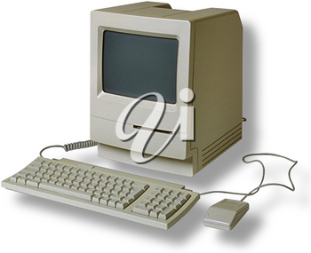 Royalty Free Photo of a Vintage Computer