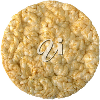 Royalty Free Photo of a Rice Cracker