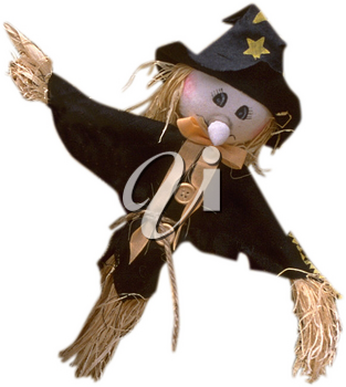Royalty Free Photo of a Scarecrow