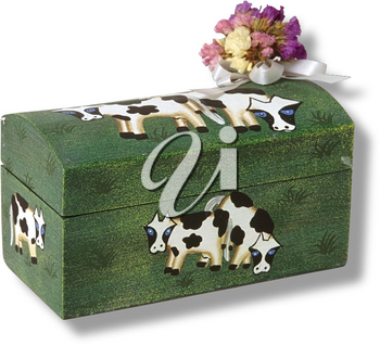 Royalty Free Photo of a Costume Box