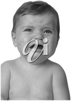 Royalty Free Photo of a Baby Crying