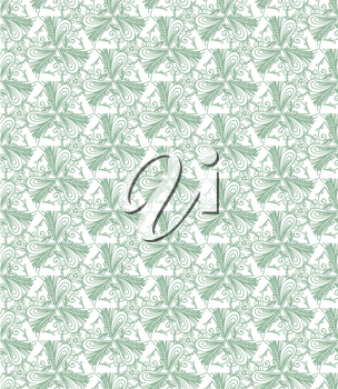 Elegant seamless lace pattern. Vector illustration. EP8