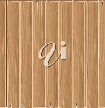 Wooden planks board vector seamless pattern. Backdrop material timber illustration
