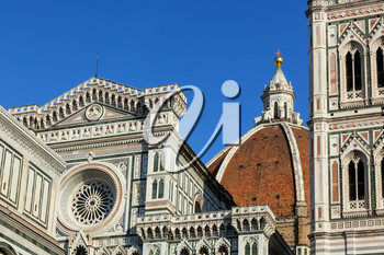 Cathedral of Santa Maria del Fiore, the main church in Florence, Italy